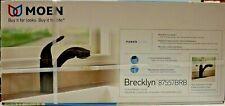 MOEN Brecklyn 1-Handle Pull-Out Sprayer Faucet in Mediterranean Bronze 87557BRB