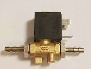 GAS SOLENOID TO SUIT MIG AND TIG WELDERS, AND PLASMA CUTTERS. 1/8 BSP WITH TAILS