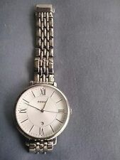 Fossil Jacqueline White Dial Stainless Steel ES3433 Womens Watch