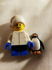 Winter 2019 Lego Boy with Winter Jacket Minifigure and Penguin Store Exclusive