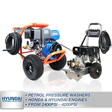More details for pressure washers petrol honda & hyundai from 2400psi - 4200psi upto 900 l/hr