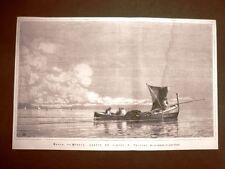 Barca da pesca Quadro di E. Dalbono del 1876