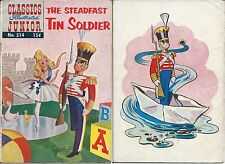 Classics Illustrated Jr 514 Steadfast Tin Soldier Christmas Story 1st Print 1955