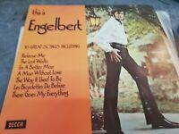 """ENGELBERT HUMPERDINCK """"THIS IS ENGELBERT """" VINYL LP"""