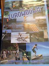 THROWDOWN / DASHBOARD SKIMBOARDS DVD - NEW!