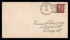 DR WHO 1932 USS TUTUILA NAVAL SHIP NANKING CHINA TO USA  f50971