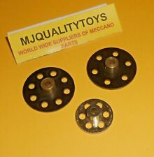 MECCANO ELEKTRIKIT PARTS 514 516 518 BUSH WHEELS x 3pcs