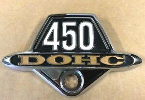450 DOHC Side Cover Badge for HONDA CB450 1972 1973 New Metal Emblem HS56