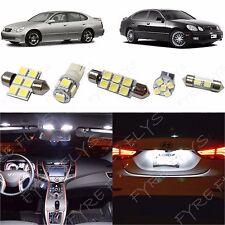 12x White LED lights interior package kit 1998-2005 Lexus GS300 GS400 GS430 LG1W