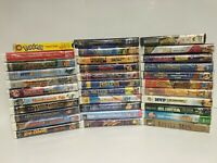 Huge Lot 33 Brand New Sealed Walt Disney Animated Kids VHS Tapes WB Universal