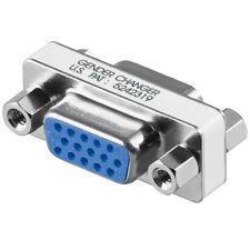 S-VGA D-SUB Verbindung Adapter für Monitor Kabel Kupplung weiblich 15 polig