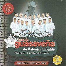Banda Gusavena de Valentin Elizalde  Mi primo Mi Amigo CD+DVD New Nuevo Sealed