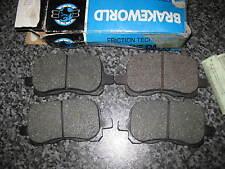 AKE FRONT BRAKE PADS - FITS: TOYOTA COROLLA 2.0 DIESEL - MK8 - E11 (1997-2002)