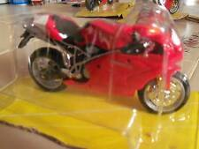 1/18 DUCATI  999S 999 S red SPORT BIKE motorcycle NEW L