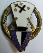 insigne Artillerie 1939 402° RDCA DEFENSE CONTRE AERONEFS ORIGINAL WWII