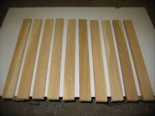 10 Eichenleisten Eiche 23x63x630mm 4-seitig gehobelt Leisten Kantholz Fussleiste