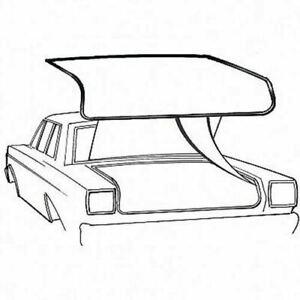 1965-79 Fairlane, Torino, Comet & Falcon trunk weatherstrip seal