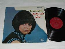 YOLANDA LISI La Versatile LP Disques Apex Records ALF-71584 Stereo French Vinyl