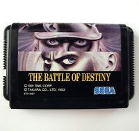 Rare FATAL FURY BATTLE OF DESTINY for Sega Megadrive (JAP) - jeu pour Mega Drive