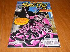 G.I. Joe #141 Snake Eyes! Transformers! (1993) RARE NEWSSTAND EDITION HIGH GRADE
