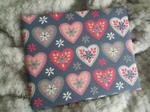 Disabled Blue badge holder wallet cover  HEARTS  safe4hologram
