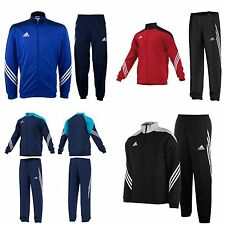 Adidas Kids Boys Tracksuit Full zip Junior Football Jogging Jacket Bottoms Age