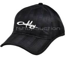 Oakley Plaid Trucker Cap Black Casual Golf Baseball Sport Womens All Size Hat