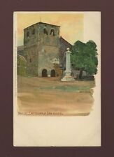 Italy TRIESTE Cattedrale San Giusto Artist Raoul Frank u/b c1902 PPC
