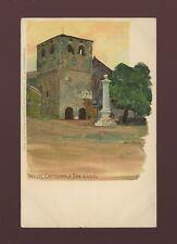 Italy TRIESTE Cattedrale San Giusto Artist Raoul Frank u/b c1902 PPC