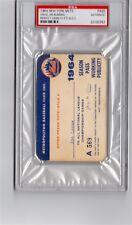 1964 Jim Bunning No Hit/PSA Pass Ticket Full New York Mets/10K/ Phillies tigers