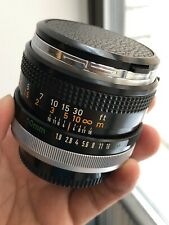 50mm F1.8 CANON FD  PRIME LENS with BREECH LOCK METAL MOUNT MADE by CANON
