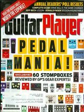 2013 Guitar Player Magazine: Pedal Mania/Stompboxes/High-End Audio Cables