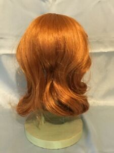 Doll Wig Carrot Red Size 10/11 Monique Collection Original Box Unused