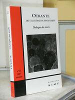 REVUE OTRANTE N°22 - DIALOGUE DES MORTS - ART ET LITTERATURE FANTASTIQUE