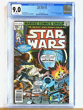 STAR WARS #5 : CGC 9.0 : 1977 Marvel, 1st appearance Wedge Antilles