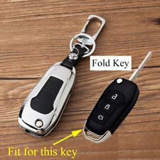 Accessories For Ford Mendeo Escort Fusion Key Shell Holder Fob Ring Cover Metal