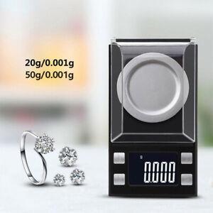 Tragbare Digitale 1mg Waage Gewicht 0.001g Hochpräzise Elektronische Waage DE