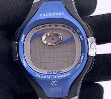 Calypso Wr 50 M Digital 42,5 mm Alarme Chrono Pas Fonctionne pour Pièces