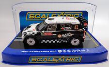 "Scalextric ""Galp"" Mini Countryman WRC DPR W/ Lights 1/32 Slot Car C3385"