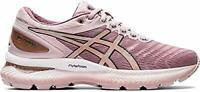 ASICS Women's Gel-Nimbus 22 (D) Running Shoes, Gold, Size 10.0 fnJQ