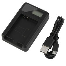 LCD Smart Screen Camera Battery Charger BLN-1 for Olympus OM-D E-M1 II E-M5 EM5