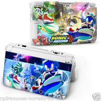 Super Sonic Rigid Proctective Hard Case Cover For (Latest 2015) Nintendo 3DSXL