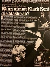The Police, Stewart Copeland, Klark Kent, Foreign Clipping