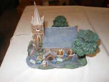 Windermer Church 1999 Thomas Kinkade Hawthorne Village Lamplight Collection