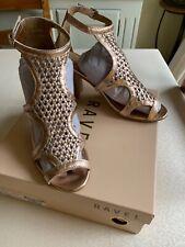 Ravel Rose Gold Sandals Size 5 BNWT