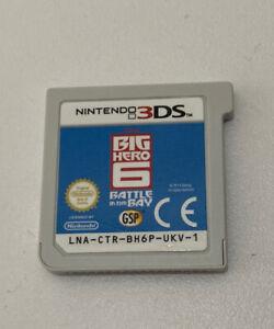 Nintendo 3DS Big Hero 6 : Cartridge Only : Free P&P