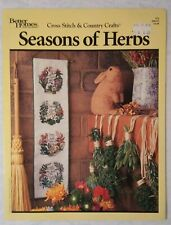 Seasons of Herbs Better Homes & Gardens Cross Stitch & Country Crafts # 76