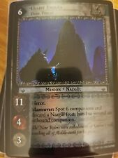 Lord of the Rings TCG Ages End 19P36 Ulaire Enquea, Dark Threat FOIL CCG LOTR
