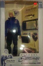 """JIMMY HOUSTON 12"""" DOLL FIGURE OUTDOOR SPORTSMAN FISHING NIB Ken Doll"""