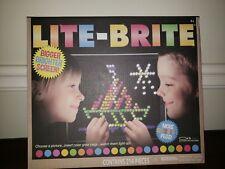 Lite-brite NIB 200+ PEGS Hasbro retro Toy Light Bright Kids board Game